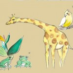 Ideas for Giraffe Mural
